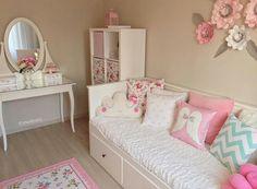 Ikea Girls Room, Ikea Kids Bedroom, Teen Girl Rooms, Little Girl Rooms, Girls Bedroom, Bedroom Decor, Cute Bedroom Ideas, Girl Bedroom Designs, Princess Room