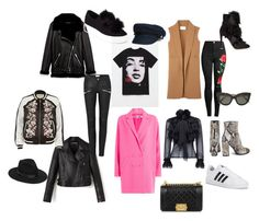 """""""klára wish list"""" by klara-souckova on Polyvore featuring Gola, Alexander Wang, WithChic, River Island, McQ by Alexander McQueen, adidas, Gianvito Rossi, Steve Madden, Just Cavalli and Chanel"""