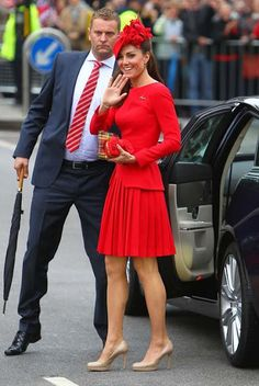 Kate Middleton in Alexander McQueen GORGEOUS!!
