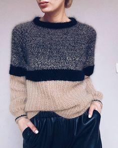 Knitwear Fashion, Knit Fashion, Pull Crochet, Knit Crochet, Fair Isle Knitting, Hand Knitting, Pulls, Diy Clothes, Knitting Patterns
