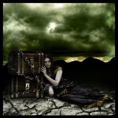 7 Deadly Sins - Greed by elestrial.deviantart.com on @deviantART
