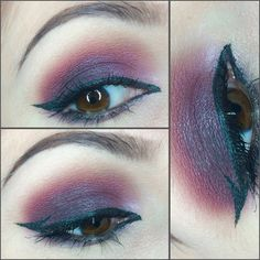 A simple makeup look I created using Kat Von D's Chrysalis palette. - Makeupartistme!
