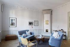 Scandinavian luxury apartment. Interior design at its best. Tulegatan 25 | Fantastic Frank