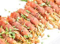 How to Make Prosciutto Wrapped Enoki Mushrooms Recipe - Snapguide