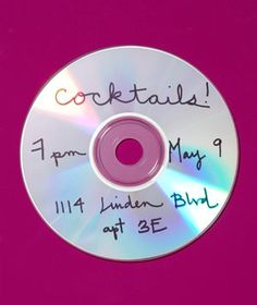 DIY Invitations Upcycle This! 14 Ways to Reuse CDs & DVDs