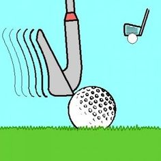 Tips to help eliminate topping the ball. #golf #lorisgolfshoppe