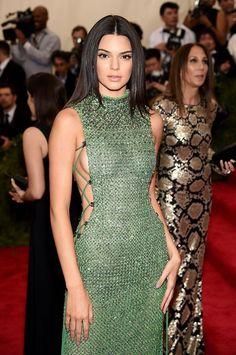 Kendall Jenner met gala 2015 best beauty