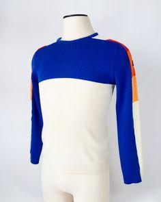 Vintage Demetre Ski Sweater / 1980s / Men's Medium by fourBvintage