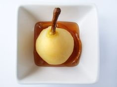 Spiced Poached Pears with Syrup