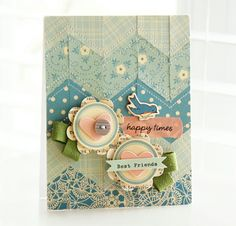 BEAUTIFUL CARD USING OCTOBER AFTERNOON PRODUCT