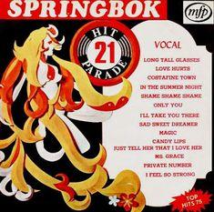Springbok: Springbok Hit Parade Volume 01 To 30 Love Hurts, My Love, Erotica, Album Covers, Vinyl Records, The Dreamers, Memories, Feelings, Albums