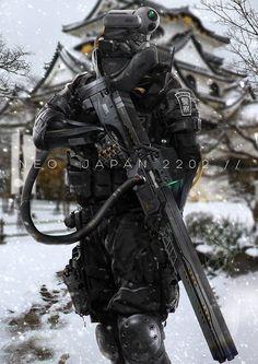 AI警官が活躍する未来の日本を描く「NEO JAPAN 2202」がサイバーパンクでカッコいい(※画像アリ) | Hinemosu