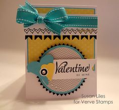 susiestampalot: January Verve Diva Inspiration Hop--love the different color palette!