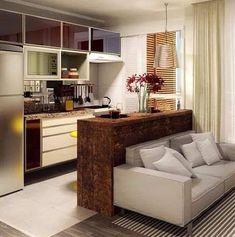 Kitchen design ideas apartment living rooms ideas for 2019 Sofas For Small Spaces, Small Apartments, Sala, Apartment Living Room, Apartment Design, Home Decor, House Interior, Apartment Decor, Apartment Interior