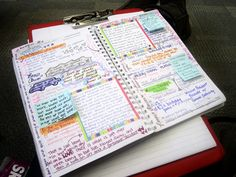 Inspiration: Favorite Quotes Journal Pages-would also be good when you just have time to write a sentence or two