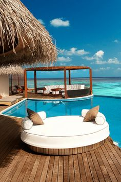 Ocean Haven Pool. W Retreat & Spa - Maldives.