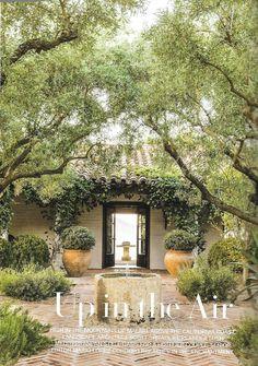 mediterranean style homes exterior Indoor Outdoor, Outdoor Rooms, Outdoor Living, Spanish House, Spanish Style, Spanish Colonial, Landscape Design, Garden Design, Veranda Magazine