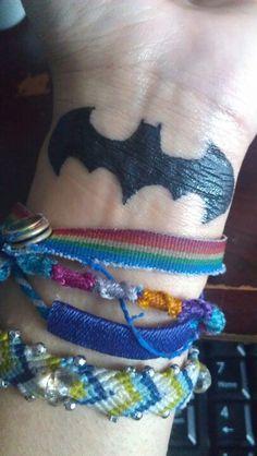 My Batman Tattoo. :)  #Batman #Tattoo
