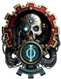 Warhammer 40000,warhammer40000, warhammer40k, warhammer 40k, ваха, сорокотысячник,фэндомы,Adeptus Mechanicus,Mechanicum,Imperium,techpriest,servitor