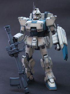 GUNDAM GUY: MG 1/100 Gundam Ez-8 - Painted Build