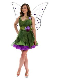 3pc Woodland Fairy - Angels Fancy Dress Costumes