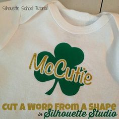 HOW TO CUT OUT A WORD FROM A DESIGN IN SILHOUETTE STUDIO