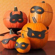 Animal Masquerade Pumpkin Masks