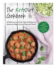 Look at this #zulilyfind! The KetoDiet Cookbook by Quarto #zulilyfinds