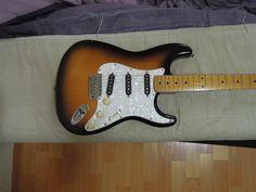 Fender Japan 57 Reissue Stratocaster | 9.5jt Fender Japan, Music Instruments, Guitar, Guitars, Musical Instruments