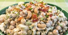 Creamy Ranch Pea Salad