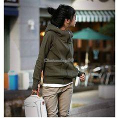 Women-Korea-Hoodie-Jacket-Coat-Sweatshirt-Outerwear-Hooded-Sweater-Tracksuit