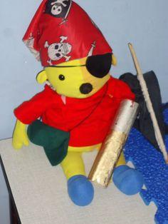 Pompom als piraat