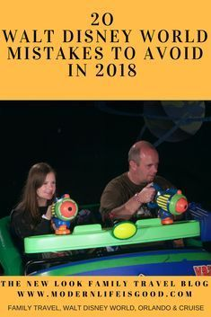 20 Walt Disney World Mistakes to Avoid in 2018 so you can have a fantastic Orlando Disney Vacation.