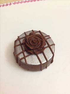 Fancy chocolate covered oreo