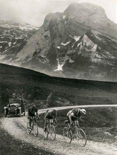 Men of steel.... so where the bikes