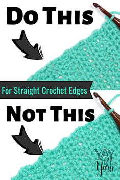 the Chainless Starting Stitches to Give Your Crochet a Perfectly Straight Edge! Use the Chainless Starting Stitches to Give Your Crochet a Perfectly Straight Edge! Use the Chainless Starting Stitches to Give Your Crochet a Perfectly Straight Edge! Tunisian Crochet, Knit Or Crochet, Learn To Crochet, Crochet Crafts, Easy Crochet, Free Crochet, Double Crochet, Crochet Ideas, Crochet Tutorials