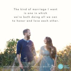 """""""Let each man love his wife as his very own self while the wife respects and reverences her husband."""" Eph. 5:33 AMP"""