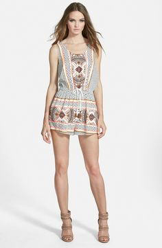 'Space Cowboys' Sleeveless Romper