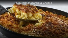 Wolfgang Puck's Gourmet Macaroni & Cheese Recipe by Wolfgang Puck | Recipe - ABC News