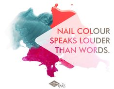 Nail colour speaks louder than words! Mood Colors, Nail Colors, Colours, Bio Sculpture Gel, Mani Pedi, Nail Tech, Favorite Color, Words, Nails