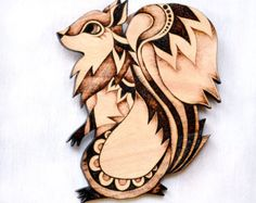 Hedgehog Wood Wall Hanging Pyrography Wood by GlenoutherCrafts