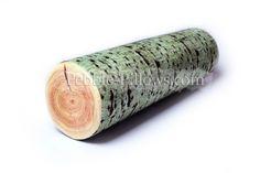 Nature Green Poplar Tree Log Pillow