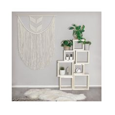 Extra Large Macrame Wall Hanging / Modern Macrame by TeddyandWool