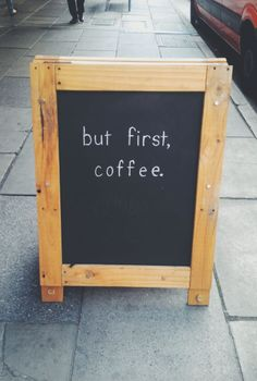 Before anything else... #MrCoffee