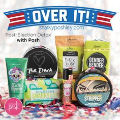This election season has been long and exhausting—thank goodness it's over! Now it's time to truly detox. Luckily, Posh has lots of products to help you get clean and start fresh!  #snarkyposhley #PerfectlyPosh #detox #gladthatsover