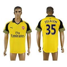 Arsenal 16-17 #Zelalem 35 Udebanetrøje Kort ærmer,208,58KR,shirtshopservice@gmail.com
