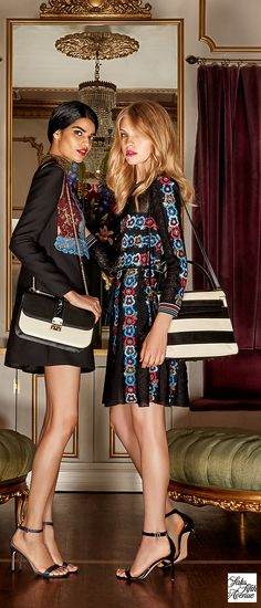 Meet one of the newest members of fall's handbag elite: Valentino. Saks' Fall Handbag event has the perfect finishing touch for every outfit.