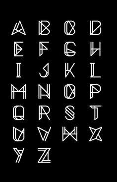 Metrica - Free Font Download on Behance  Designed by Oliver James