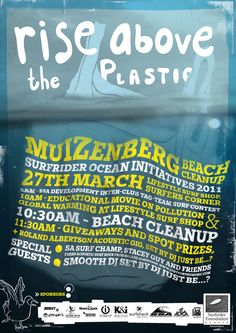 Muizenberg beach clean up