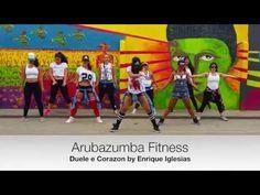 Duele El Corazon - Enrique Iglesias ft. Wisin | Zumba Fitness choreography by Moez Saidi - YouTube